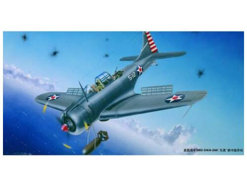 Trumpeter SBD-3/4/A-24A Dauntless US Navy 1:32 (2242)