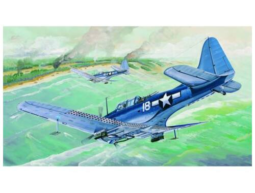 Trumpeter SBD-5/A-24B Dauntless US Navy 1:32 (2243)