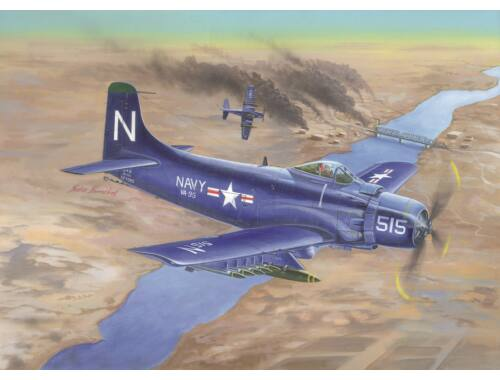 Trumpeter A-1D AD-4 Skyraider 1:32 (02252)