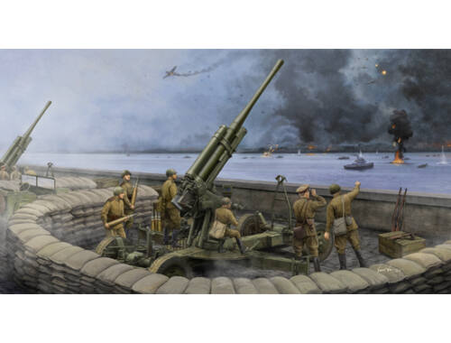Trumpeter Soviet 52-K 85mm Air Defense Gun M1943 Late Version 1:35 (02342)