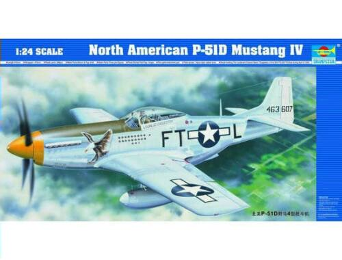 Trumpeter North American P-51 D Mustang IV 1:24 (02401)
