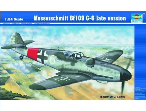 Trumpeter Messerschmitt Bf 109 G-6 späte Version 1:24 (02408)