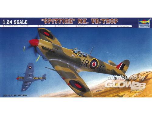 Trumpeter Supermarine Spitfire Mk. Vb/Trop 1:24 (2412)