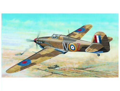 Trumpeter Hawker Hurricane IID Trop 1:24 (2417)