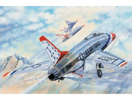 Trumpeter F-100D in Thunderbirds livery 1:32 (03222)