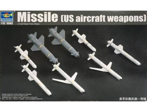 Trumpeter U.S. Aircraft Weapons: Missiles 1:32 (03306)