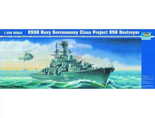 Trumpeter Warship Sovremenny Clas 956 1:350 (4514)