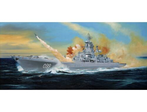 Trumpeter Russian battle cruiser Pyotr Velikiy Ex-Yuki Andropov 1:350 (04522)