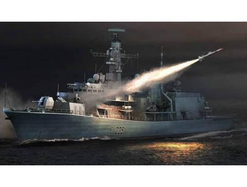 Trumpeter HMS TYPE 23 Frigate - Monmouth (F235) 1:350 (4547)