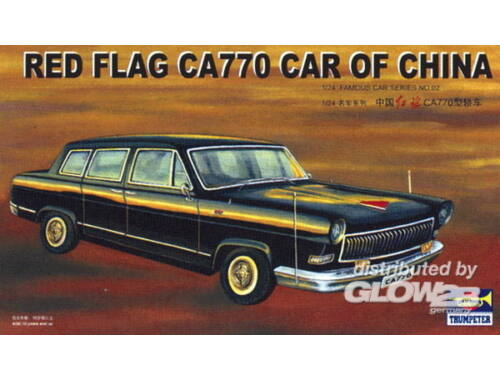 Trumpeter Red Flag Limousine CA770 1:24 (5402)