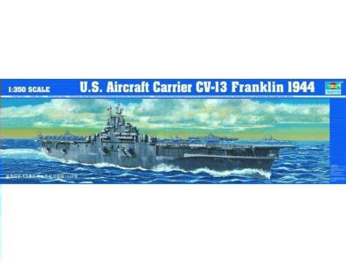 Trumpeter Flugzeugträger USS CV-13 Franklin 1:350 (05604)