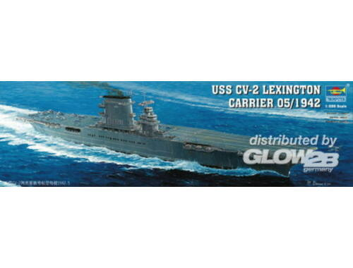 Trumpeter Flugzeugträger USS Lexington CV 2 1:350 (05608)