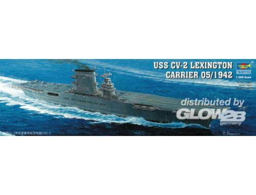 Trumpeter Aircraft Carrier USS Lexington CV 2 1:350 (5608)