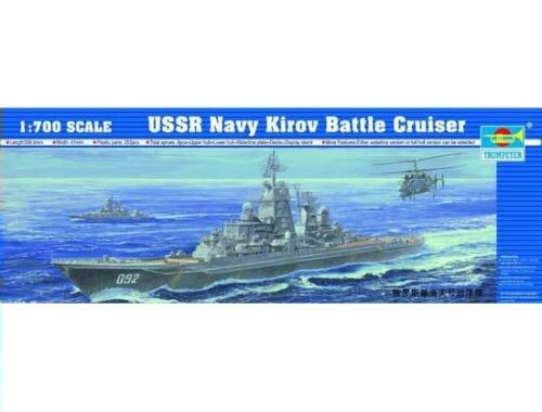 Trumpeter Battle Cruiser USSR Navy Kirov 1:700 (5707)