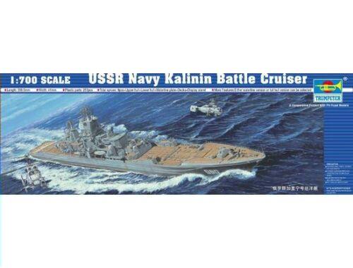 Trumpeter Battle Cruiser USSR Navy Kalinin 1:700 (5709)