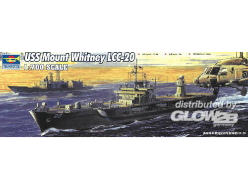 Trumpeter USS Mount Whitney LCC-20 2004 1:700 (5718)