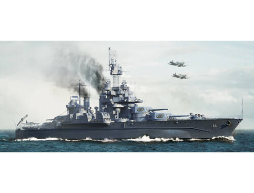 Trumpeter USS Maryland BB-46 1945 1:700 (5770)