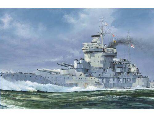 Trumpeter HMS Warspite 1942 1:700 (5795)