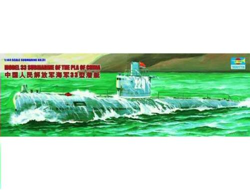 Trumpeter Chinesisches U-Boot Type 33 1:144 (05901)