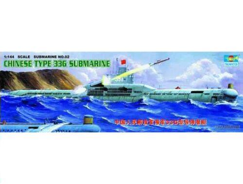Trumpeter Chinese Submarine Type 33 G 1:144 (5902)