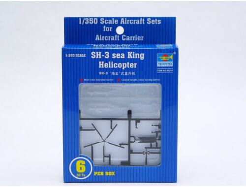 Trumpeter Sikorsky SH-3H Sea King Helicopter 1:350 (6214)