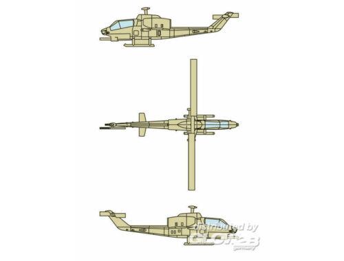 Trumpeter AH-1W SuperCobra (12 aircraft) 1:350 (6255)