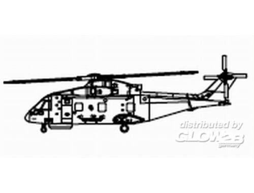 Trumpeter EH-101 (3 aircraft) 1:350 (6265)