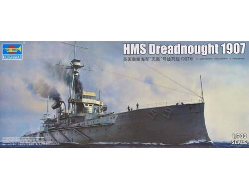 Trumpeter HMS Dreadnought 1907 1:700 (6704)