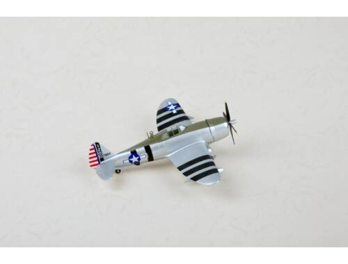 Easy Model P-47D,Flown by William D. Dunham 1943 1:72 (36421)