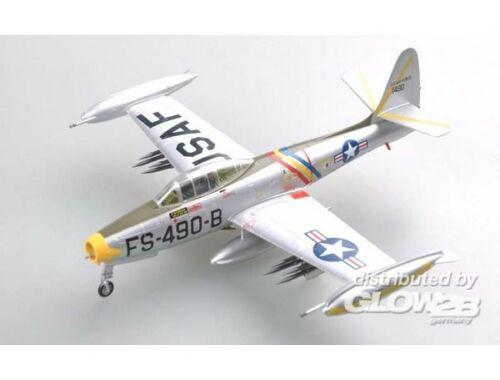 Easy Model F-84E , (51-490),523 FES,Lt.Col. William Bertram.January 1951. 1:72 (37105)