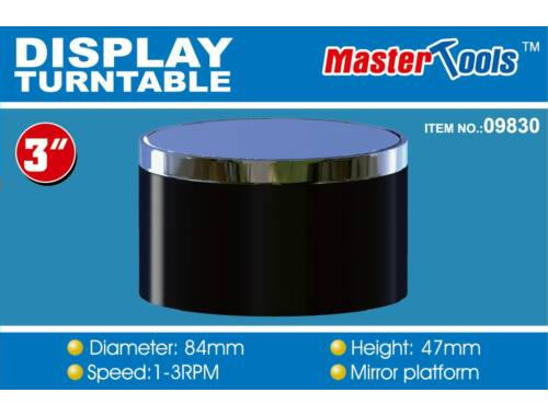 Trumpeter Master Tools Turntable Display 84x47 mm (9830)
