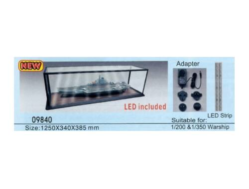 Trumpeter Master Tools Display Case LED lighting 1250x340x385 mm (9840)