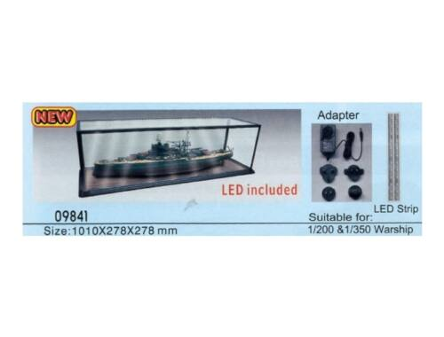 Trumpeter Master Tools Display Case LED lighting 1010x278x278 mm (9841)