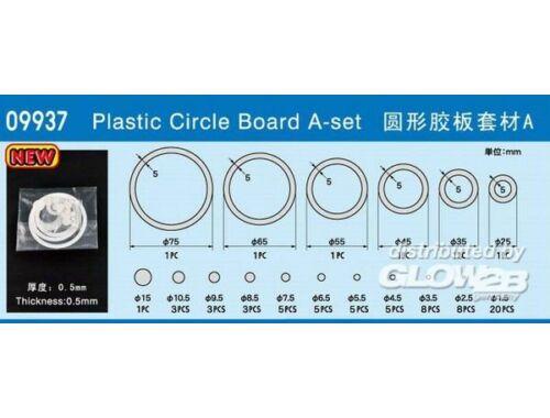 Trumpeter Master Tools Plastic Circle Board A-set (09937)