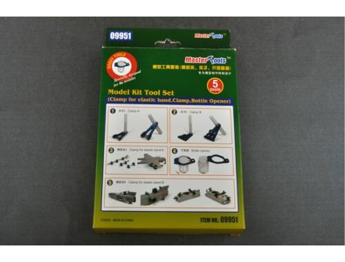 Trumpeter Master Tools Model Kit Tool Set (09951)