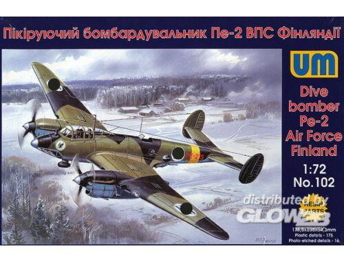 Unimodel Dive Bomber Pe-2 1:72 (102)