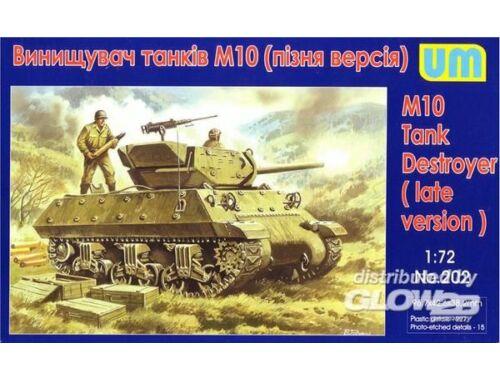 Unimodel M10 tank destroyer, late 1:72 (202)