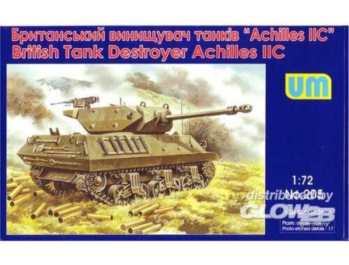 Unimodel Achilles IIC British tank destroyer 1:72 (205)