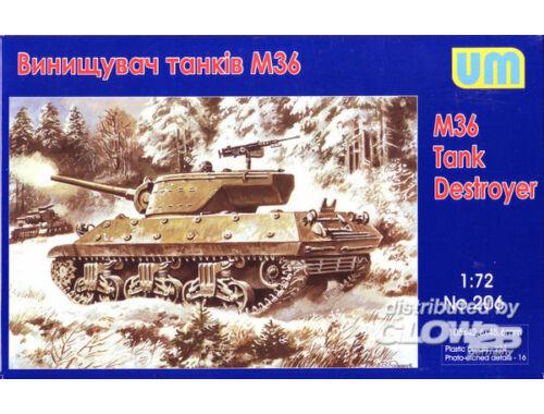 Unimodel M36 tank destroyer 1:72 (206)