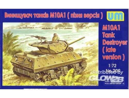 Unimodel M10A1 Tank destroyer 1:72 (209)