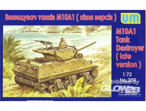 Unimodel M10A1 Tank destroyer 1:72 (209)