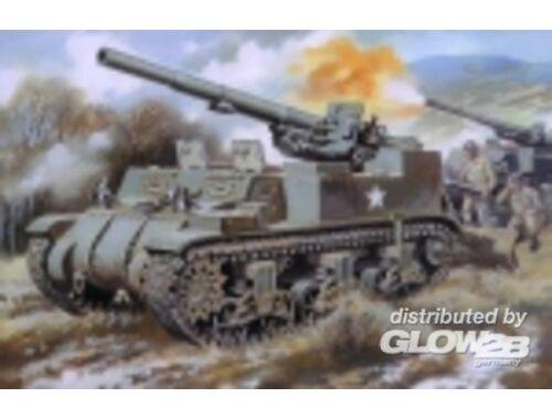 Unimodel M12 U.S. 155mm self-propelled gun 1:72 (211)