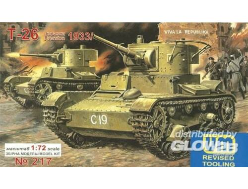 Unimodel T-26 Light Tank 1933 1:72 (217)