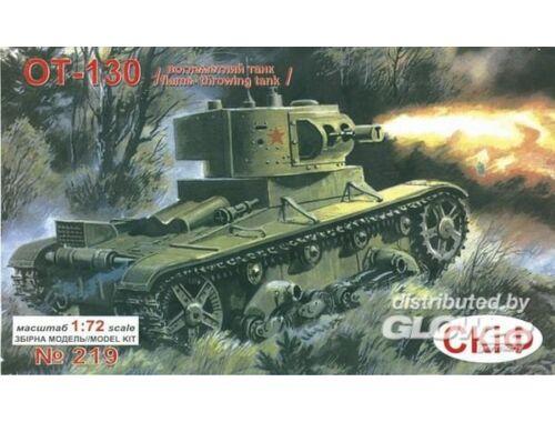 Unimodel Flammenwerferpanzer OT-130 1:72 (219)