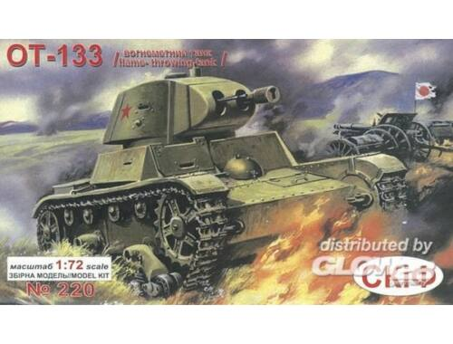 Unimodel Flammenwerferpanzer OT-133 1:72 (220)