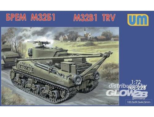Unimodel M32B1 tank recovery vehicle 1:72 (225)