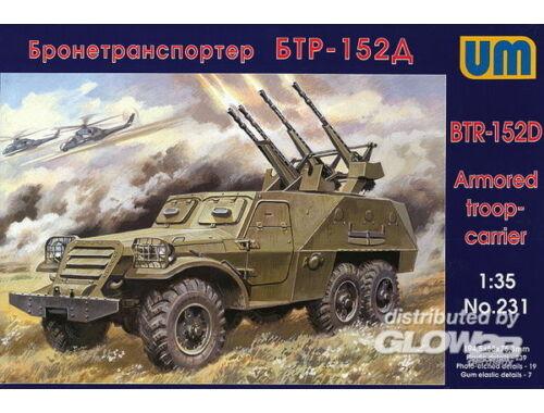 Unimodel BTR-152D 1:35 (231)