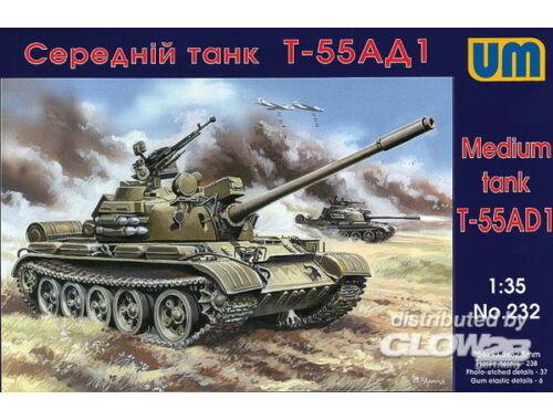 Unimodel Tank T-55AD1 1:35 (232)