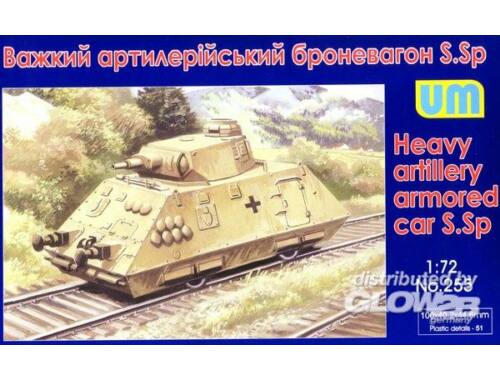 Unimodel Heavy artillery armored car S.Sp 1:72 (255)