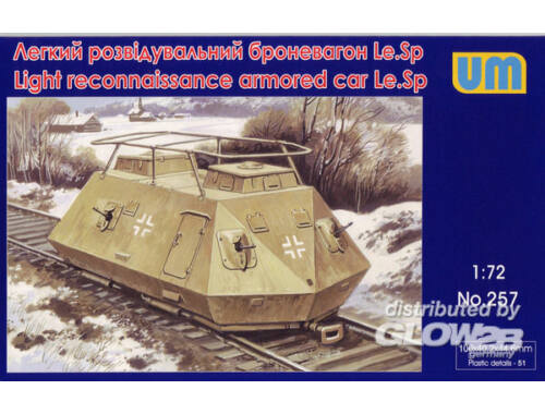 Unimodel Light reconnaissance armored car Le.Sp 1:72 (257)